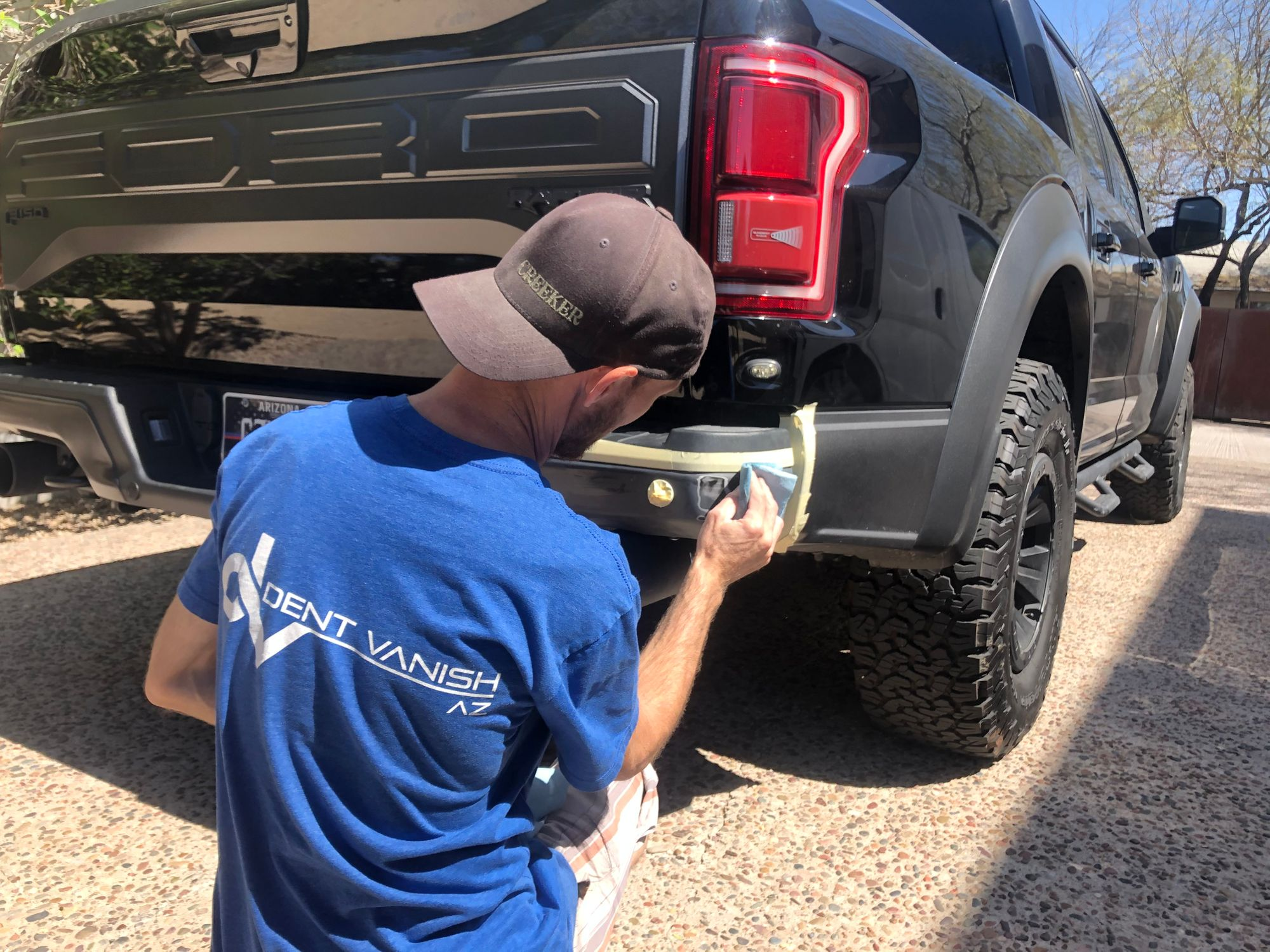 Jeremy-Raptor-Bumper-repair